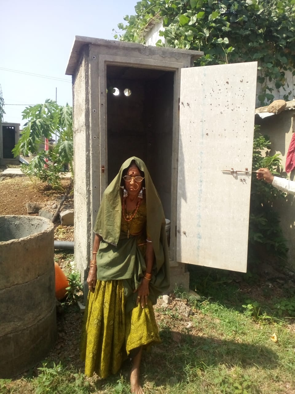 Accessible latrines for persons with disabilities (PwDs)